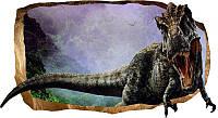 Светящиеся 3D обои Startonight Юрский динозавр