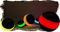 Светящиеся 3д Фото Обои Startonight Цветные Сферы Абстракция Декор стен Дизайн дома Интерьер