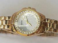 Часы женские наручные золотистые, фото 1