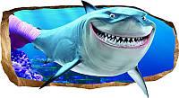 Светящиеся 3D обои Startonight Розовая акула