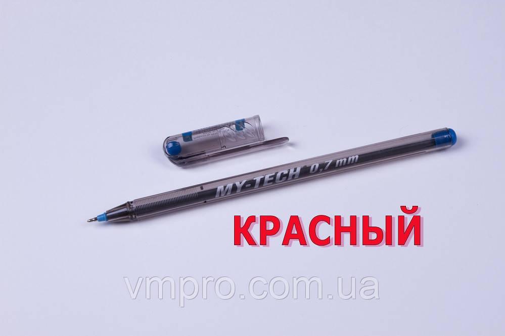 Ручки шариковые Pensan MY-TECH,красные,0.7 mm,12 шт/упаковка