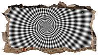 Светящиеся 3д Фото Обои Startonight Черно-Белый Гипнотик Абстракция Декор стен Дизайн дома Интерьер