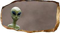 Светящиеся 3D обои Startonight Инопланетянин