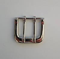 Пряжка ременная 36 мм, никель