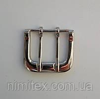 Пряжка ременная 36 мм никель