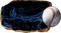 Светящиеся 3D обои Startonight Бейсбол