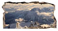Светящиеся 3D обои Startonight Снег на горах
