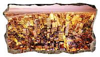 Светящиеся 3D обои Startonight Город золотой