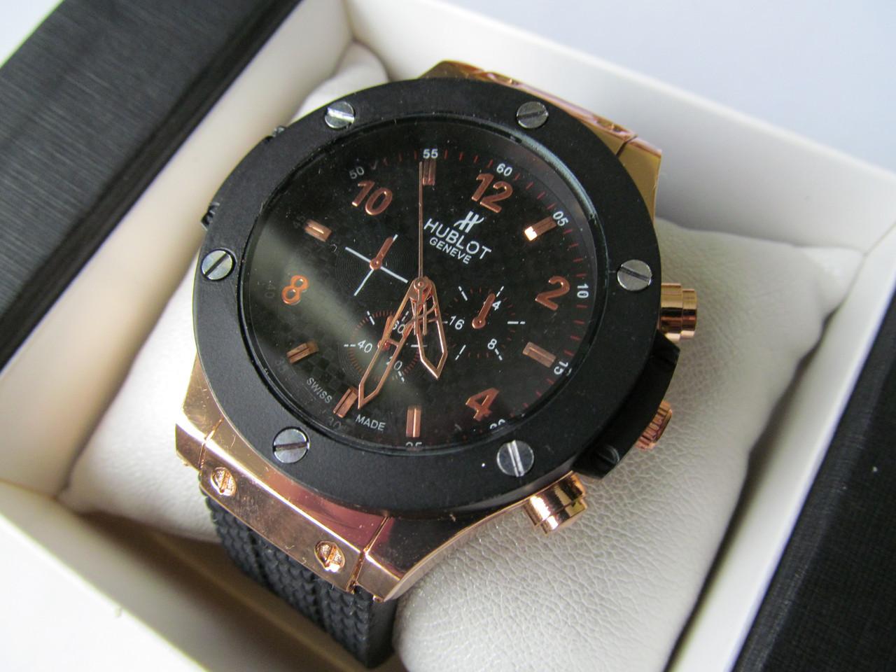 Мужские наручные часы, чёрный корпус ( код: IBW038B )