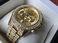 Женские наручные часы Geneva золотистые, Женева