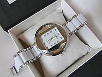 Женские наручные часы Chanel серебристые, Шанель