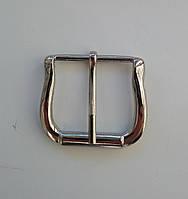Пряжка ременная 39 мм никель