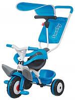 Трехколесный велосипед Smoby 3 в 1 Baby Blue (444208)