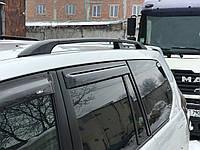 Toyota LandCruiser Prado 120 Рейлинги Черные (Метал. крепл.)