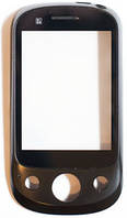 Тачскрин (сенсор) Huawei U7520, with frame (с рамкой), black (чёрный)