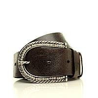 Ремень в коробке  G4050W12-B коричневый. (Emilia) Мягкая итальянская кожа с блеском. Пряжка Италия.