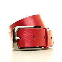 (Ester) Перламутровая итальянская кожа. Ремень в коробке  G4050W18-B красный