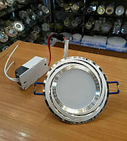Светильник светодиодный Feron AL777 5W (серебро) встраиваемый точечный, фото 1