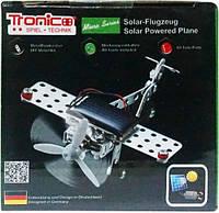 Конструктор металлический Tronico Самолет на солнечной батарее 69 деталей (9605-1)