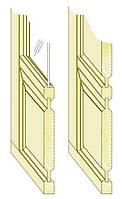 Комплект фрез для полного изготовления филёнчатых дверей с остеклением