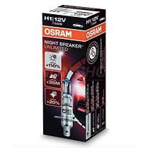 Osram Night Breaker UNLIMITED +110% H1, фото 3
