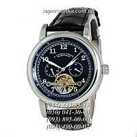 Представительные мужские наручные часы A.Lange & Sohne Glashutte Silver/Black