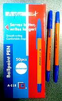 Ручка шариковая A+BALL PEN синяя, 0,7мм A118c