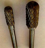 Борфреза, тип C (цилиндр с сферическим торцом),  14,0х25х6мм