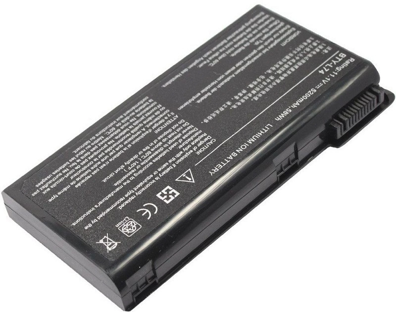 Аккумулятор PowerPlant для ноутбуков MSI A6200 (BTY-L74, MSYL74LH) 11.