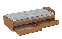 Кровать 90+2 односпальная с ящиками, фото 1