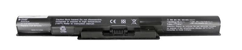 Аккумулятор PowerPlant для ноутбуков SONY VAIO Fit 14E (VGP-BPS35A) 14