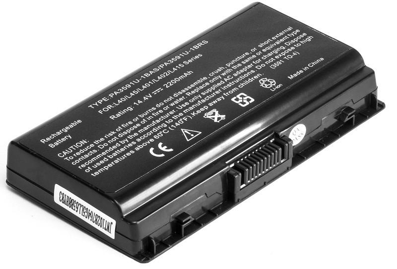Аккумулятор PowerPlant для ноутбуков TOSHIBA Satellite L40(PA3591U-1BR