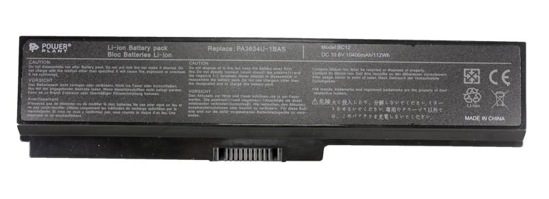 Аккумулятор PowerPlant для ноутбуков TOSHIBA Satellite M300 (PA3634U-1