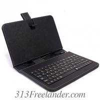 """Чехол на планшет с клавиатурой 7"""". Только ОПТОМ! В наличии!Лучшая цена!"""