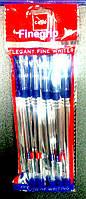 Ручка шариковая Cello FINEGRIP синяя, 5шт. 388B