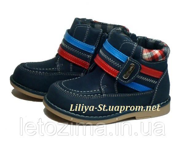 Демисезонные ботинки для мальчика р.20 стелька 13см