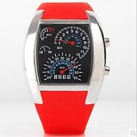 Часы наручные электронные speedometer watch