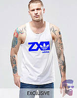 Майка борцовка мужская Adidas ZX Адидас
