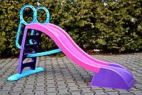 Гірка для дітей Mochtoys 187см XL-нр.4