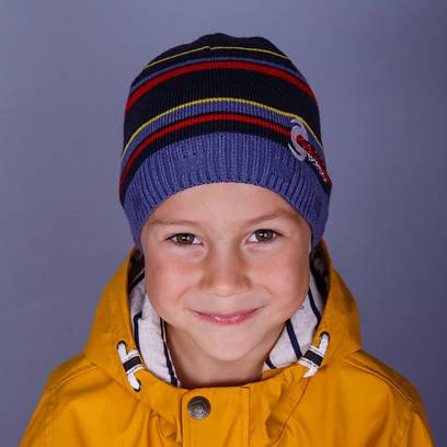 """Весенняя вязаная шапка для мальчика """"Cannoe"""""""
