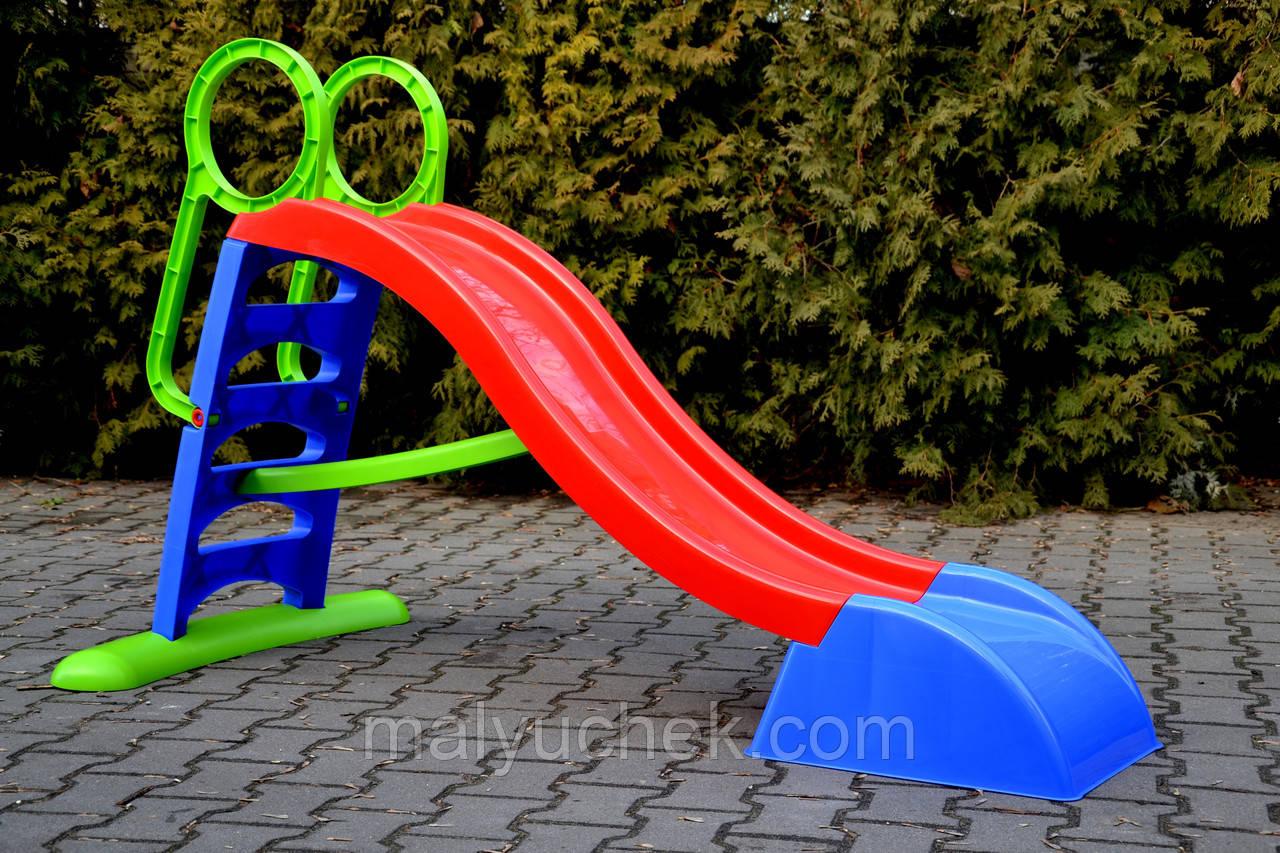 Гірка для дітей Mochtoys 187см XL-нр.5