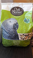 Deli-Nature Корм для крупных попугаев, 3 кг