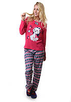 Пижама комплект штаны и кофта с длинным рукавом Интерлок