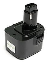 Аккумулятор PowerPlant для шуруповертов и электроинструментов DeWALT GD-DE-12 12V 2.5Ah NIMH(DE9074)