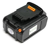 Аккумулятор PowerPlant для шуруповертов и электроинструментов DeWALT GD-DE-18(C) 18V 4Ah Li-Ion