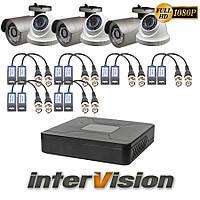 Комплект видеонаблюдения KIT-3341DWA Intervision