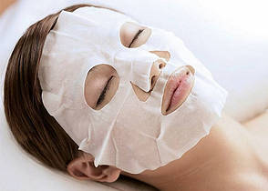 Тканевая очищающая маска с экстрактом морских водорослей TONY MOLY I'm Real Seaweeds Mask Sheet , фото 3