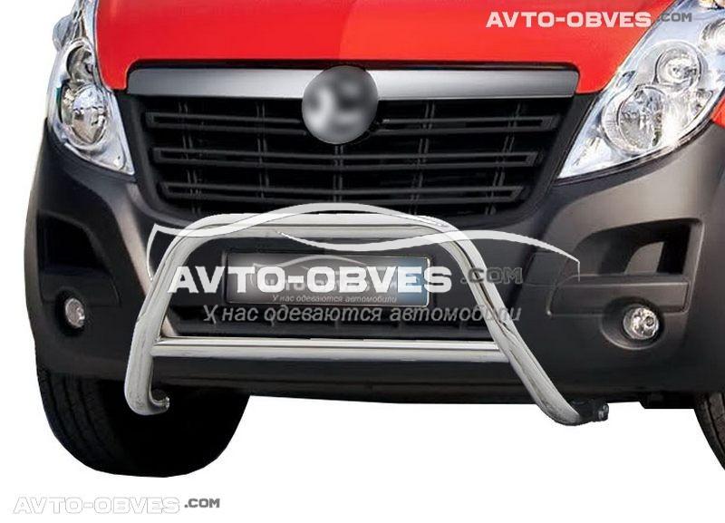 Кенгурятник Opel Movano 2012-... п.к. RR006