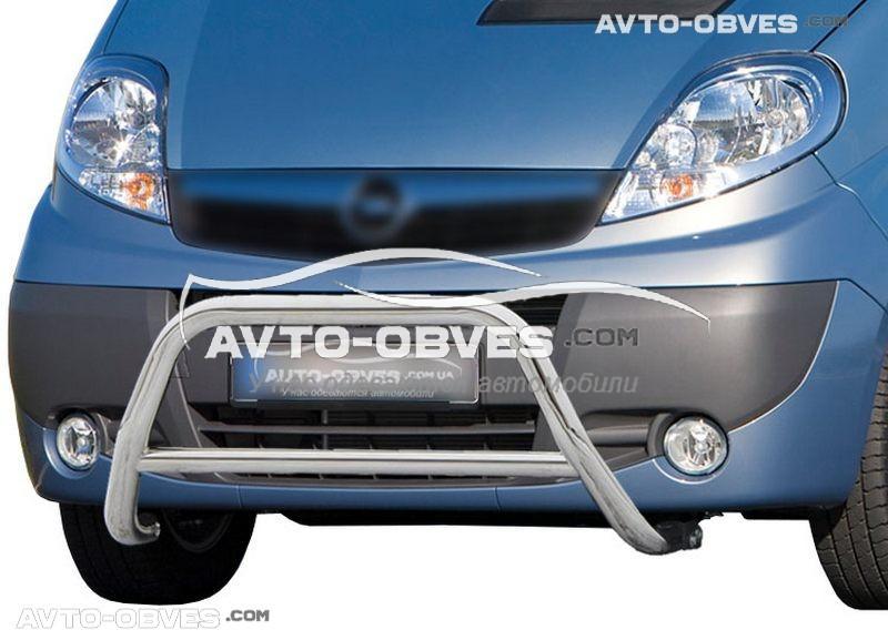 Кенгурятник Opel Vivaro п.к. RR006