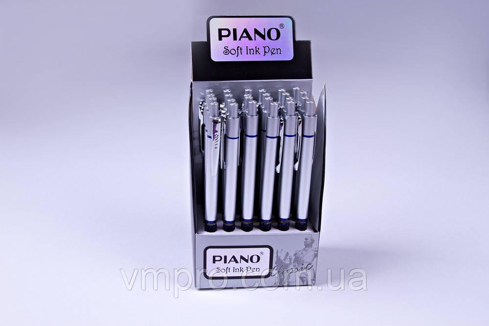 Ручки шариковые автоматические Piano №PT-186,синие,0.5 mm,24 шт/упаковка